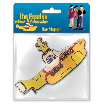 Picture of Beatles Rubber Car Magnet:  Yellow Submarine