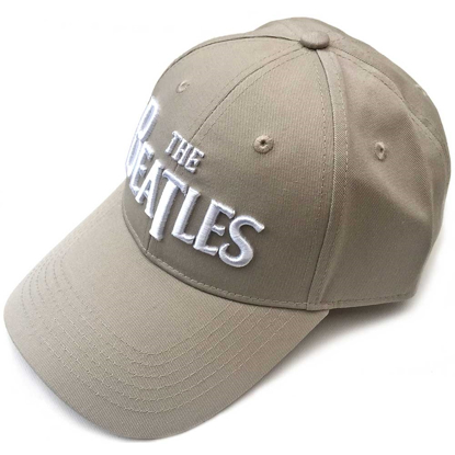 Picture of Beatles Cap: The Beatles Drop T Logo  (Sand)