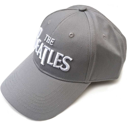 Picture of Beatles Cap: The Beatles Drop T Logo  (Grey)