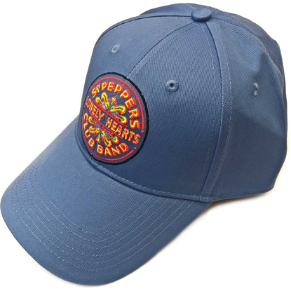Picture of Beatles Cap: The Beatles Sgt. Pepper's Drum (Denim Blue)