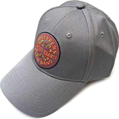 Picture of Beatles Cap: The Beatles Sgt. Pepper's Drum (Grey)
