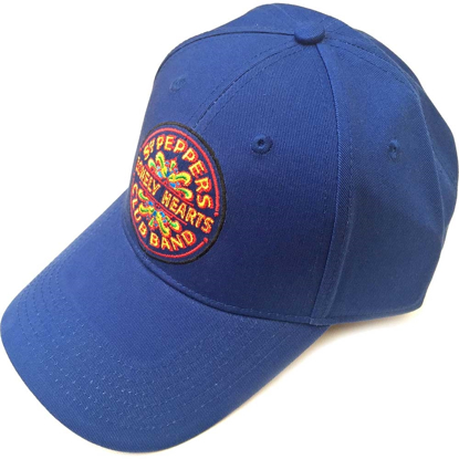 Picture of Beatles Cap: The Beatles Sgt. Pepper's Drum (Mid Blue)