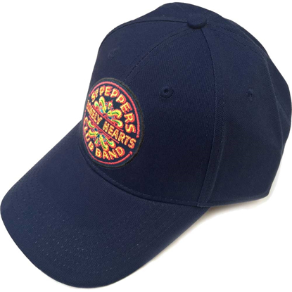 Picture of Beatles Cap: The Beatles Sgt. Pepper's Drum (Navy Blue)