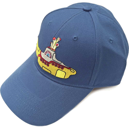 Picture of Beatles Cap: Baseball Style Yellow Submarine (Denim Blue)