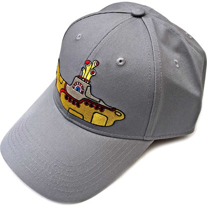 Picture of Beatles Cap: Baseball Style Yellow Submarine (Grey)
