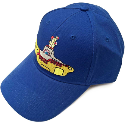 Picture of Beatles Cap: Baseball Style Yellow Submarine (Mid Blue)