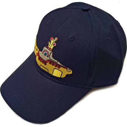 Picture of Beatles Cap: Baseball Style Yellow Submarine (Navy Blue)