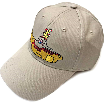 Picture of Beatles Cap: Baseball Style Yellow Submarine (Sand)
