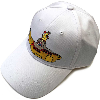 Picture of Beatles Cap: Baseball Style Yellow Submarine (White)