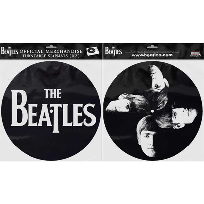 Picture of Beatles Slipmat Set: Drop T Logo & Faces