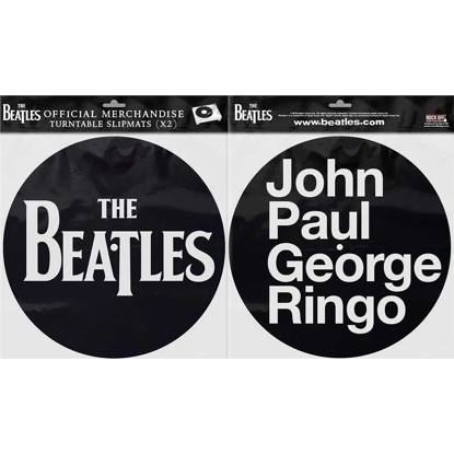 Picture of Beatles Slipmat Set: Drop T Logo & JPGR