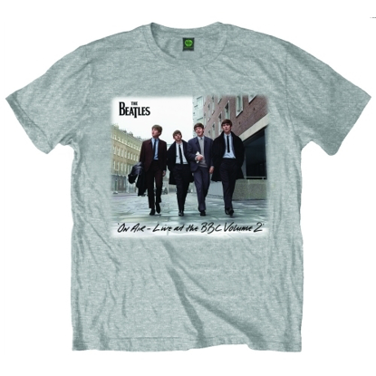 Picture of Beatles Adult T-Shirt: BBC VOL 2 Grey