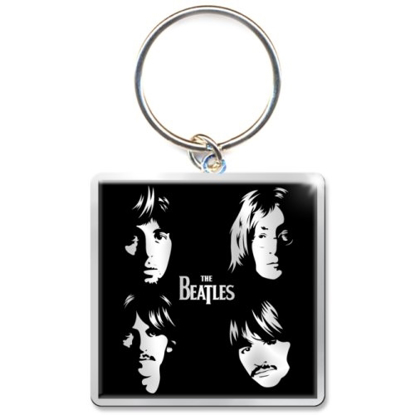 Picture of Beatles Keychain:  Illustrated Faces