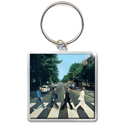 Picture of Beatles Keychain:  Abbey Road Album