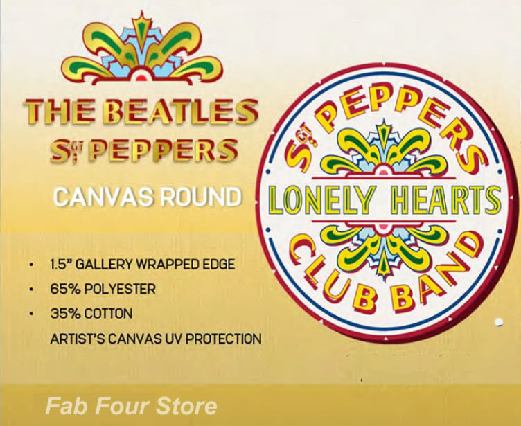 The Beatles officially licensed art -Beatles Fab Four Store ...
