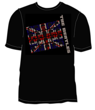 Picture of Beatles T-Shirt: The Beatles UK Invasion in Black
