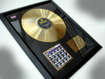 "Picture of Beatles Record Award: ""A HARD DAYS NIGHT"" 24ct GOLD"