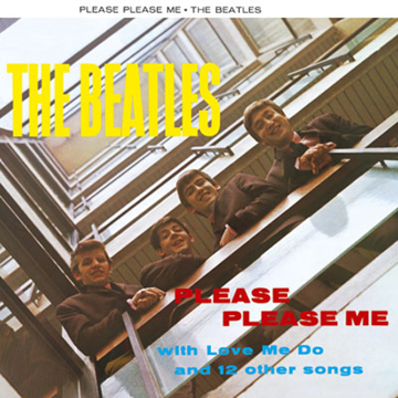 Picture of Beatles Greeting Card:  Please Please Me Album