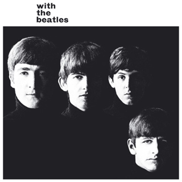 Picture of Beatles Greeting Card:  With The Beatles Album
