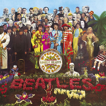 Picture of Beatles Greeting Card: Sgt. Peppers Album