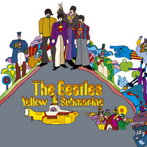 Picture of Beatles Greeting Card: Yellow Submarine Album