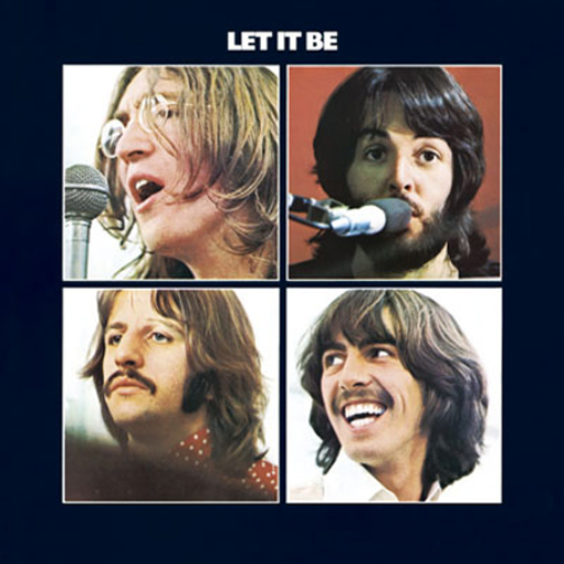 Picture of Beatles Greeting Card: Let it Be Album