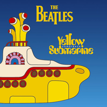 Picture of Beatles Greeting Card: Yellow Submarine Songtrack Album