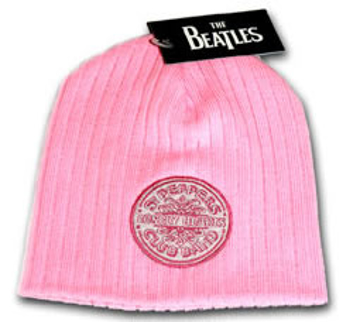 Picture of Beatles Beanie: Sargent Pepper's Pink Beanie