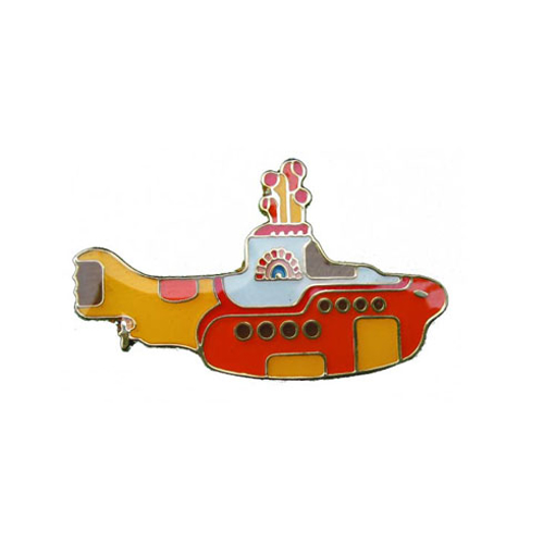 "Picture of Beatles Pin: The Beatles ""Yellow Submarine"" pin"