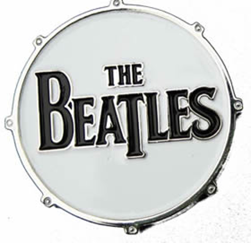 """Picture of Beatles Pins: The Beatles """"Drum"""" large pin"""