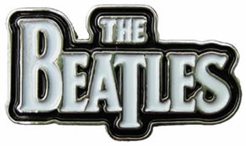 "Picture of Beatles Pins: The Beatles Classic ""Logo"" X large pin"