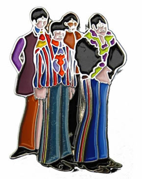 Picture of Beatles Pins: The Fab Four Pin
