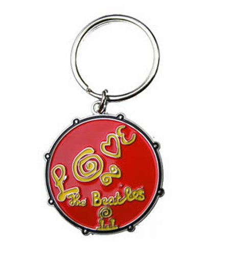Picture of Beatles Keychain: The Beatles LOVE Keychain