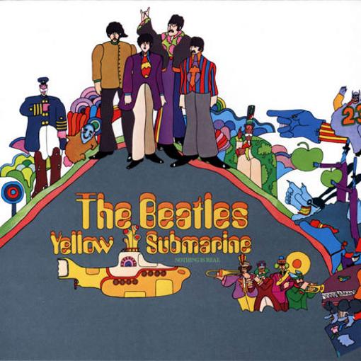 Picture of Beatles CD Yellow Submarine Songtrack Album