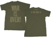 Picture of Beatles T-Shirt: John Lennon War is Over