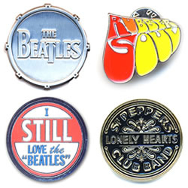 Picture for category Beatles Pins/Buttons