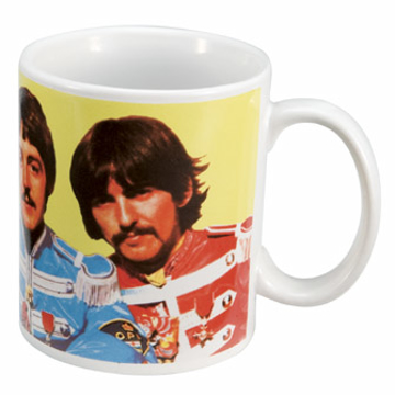 Picture of Beatles Mug: The Beatles Sgt. Pepper's 12 oz. Decal Mug