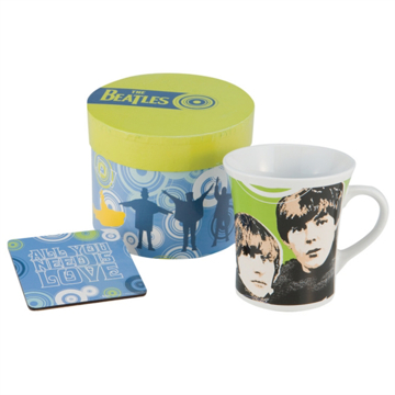 "Picture of Beatles Mug: The Beatles ""Mug & Coaster Set"""