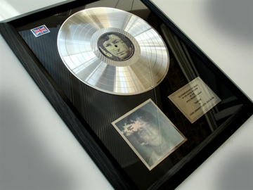 "Picture of Beatles Record Award: "" IMAGINE"" PLATINUM"