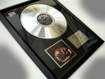 """Picture of Beatles Record Award: """"BAND ON THE RUN"""" PLATINUM"""