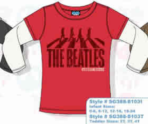 Picture of Beatles T-Shirt: 2-Fer: Infant Abbey Rd.