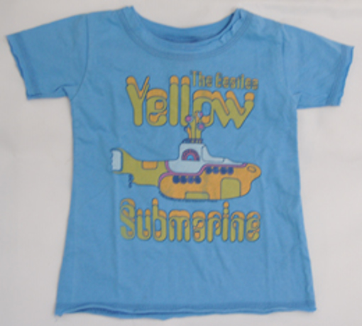 Picture of Beatles T-Shirt: Cute ToddlerYellow Sub in Blue
