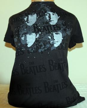 Picture of Beatles T-Shirt: The Beatles Junior Elegant Spray in Coal