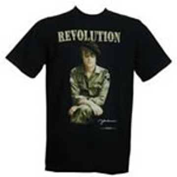 Picture of T-Shirt: John Lennon A Revolution Full Army Fatigue