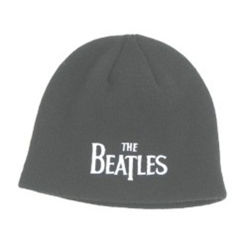 Picture of Beatles Beanie: Drop T Logo Black