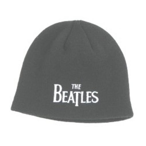 Picture of Beatles Beanie: Drop T Logo Black