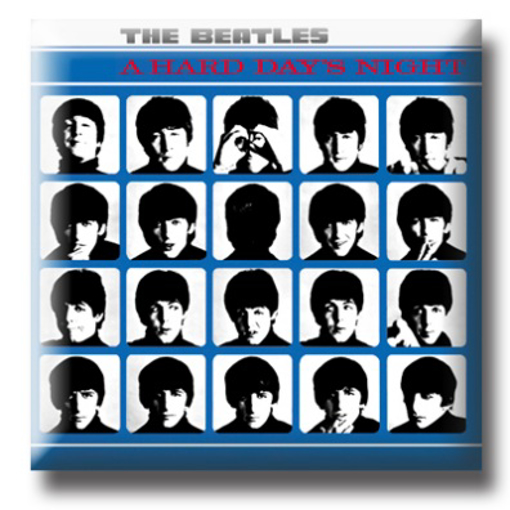 """Picture of Beatles Pin: Beatles """"A Hard Day's Night"""" flat pin"""