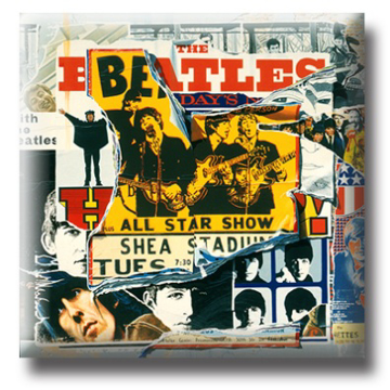 Picture of Beatles Pin: The Beatles Anthology 3 flat pin