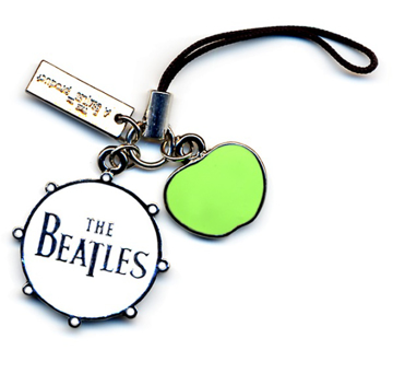 Picture of Beatles Phone Charm: Drum/Apple Logo