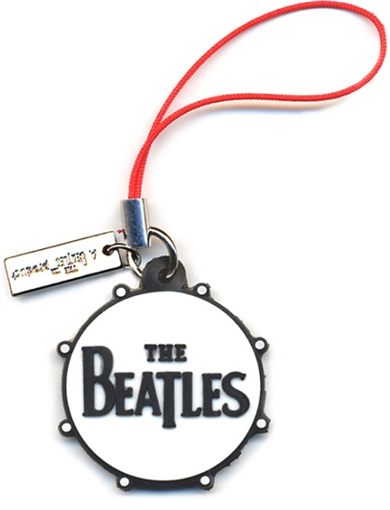 Picture of Beatles Phone Charm: Drum logo (Rubber)